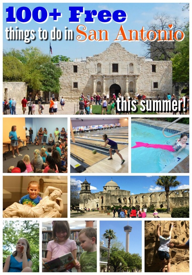 100 free things to do in the summer picture at San Antonio Mom Blogs
